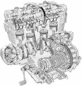 internal combustion engine inline four